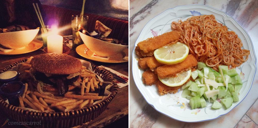 sausalitos-burger-essen-fischstaebchen-nudeln-gurke