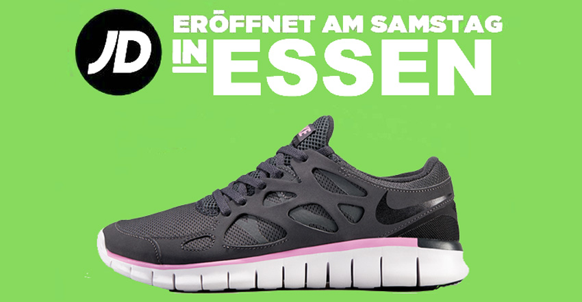 jd sports, event, neueröffnung, essen, nike, adidas, roshe run, air max, limbecker platz