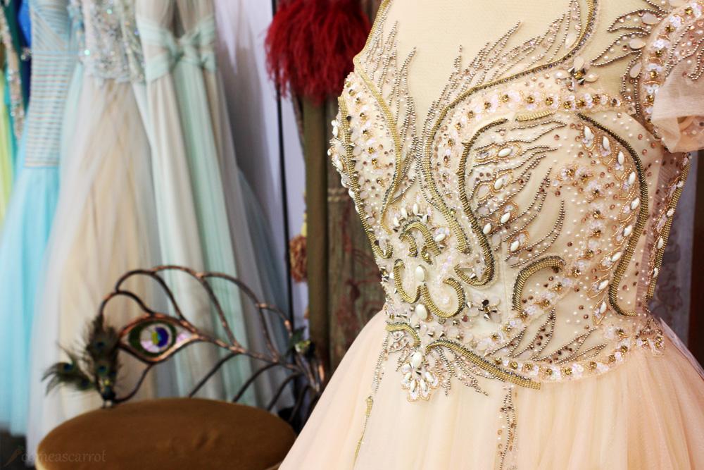 the gallery, düsseldorf, designer, dress, terani couture, great gatsby