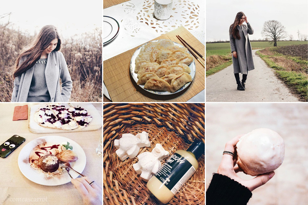 instagram, fashion blog, monday update, personal, gyoza, lush, essen