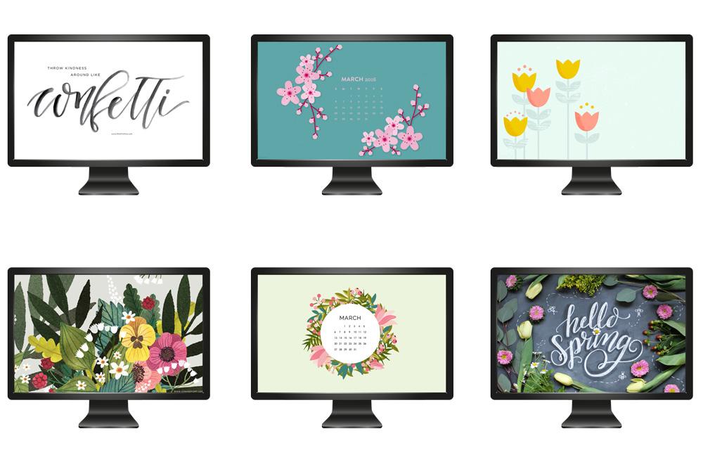 wallpaper, desktop, hintergrund, freebie, free, kostenlos, kalender, calendar, march, maerz, 2016, spring, download